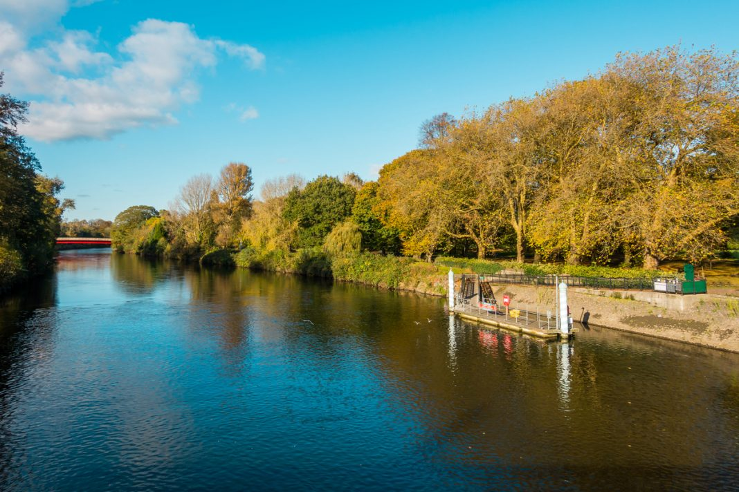 River Taff and Cardiff Bute Park
