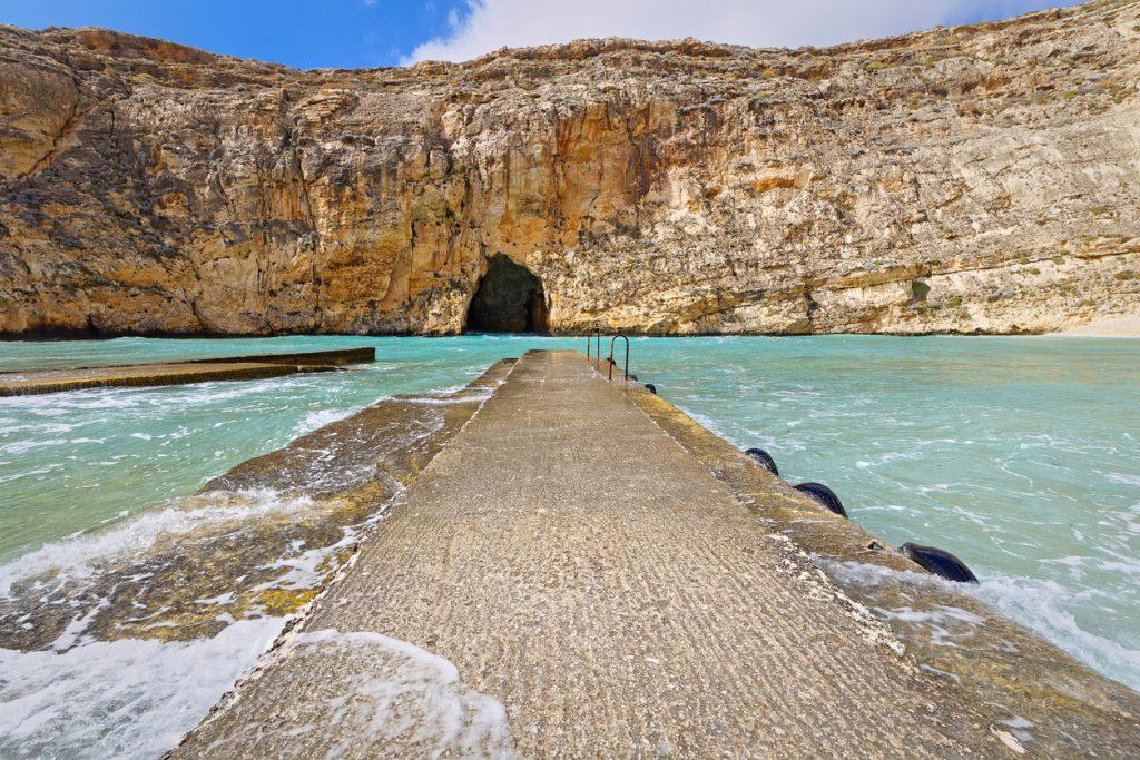 Inland Sea at Dwejra, Gozo, Malta