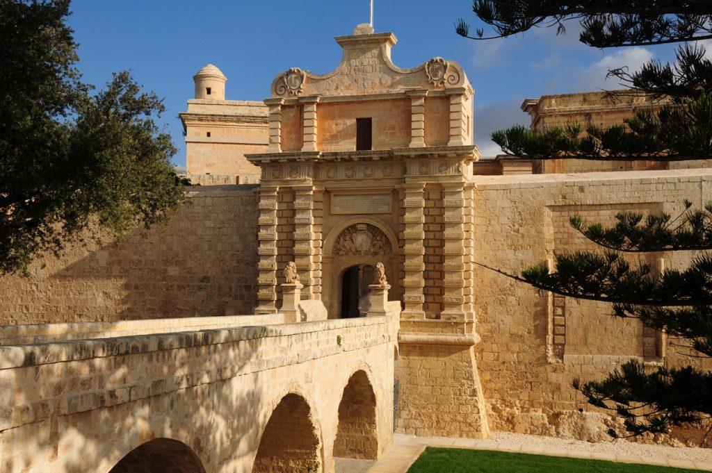 Gate of Mdina, Malta