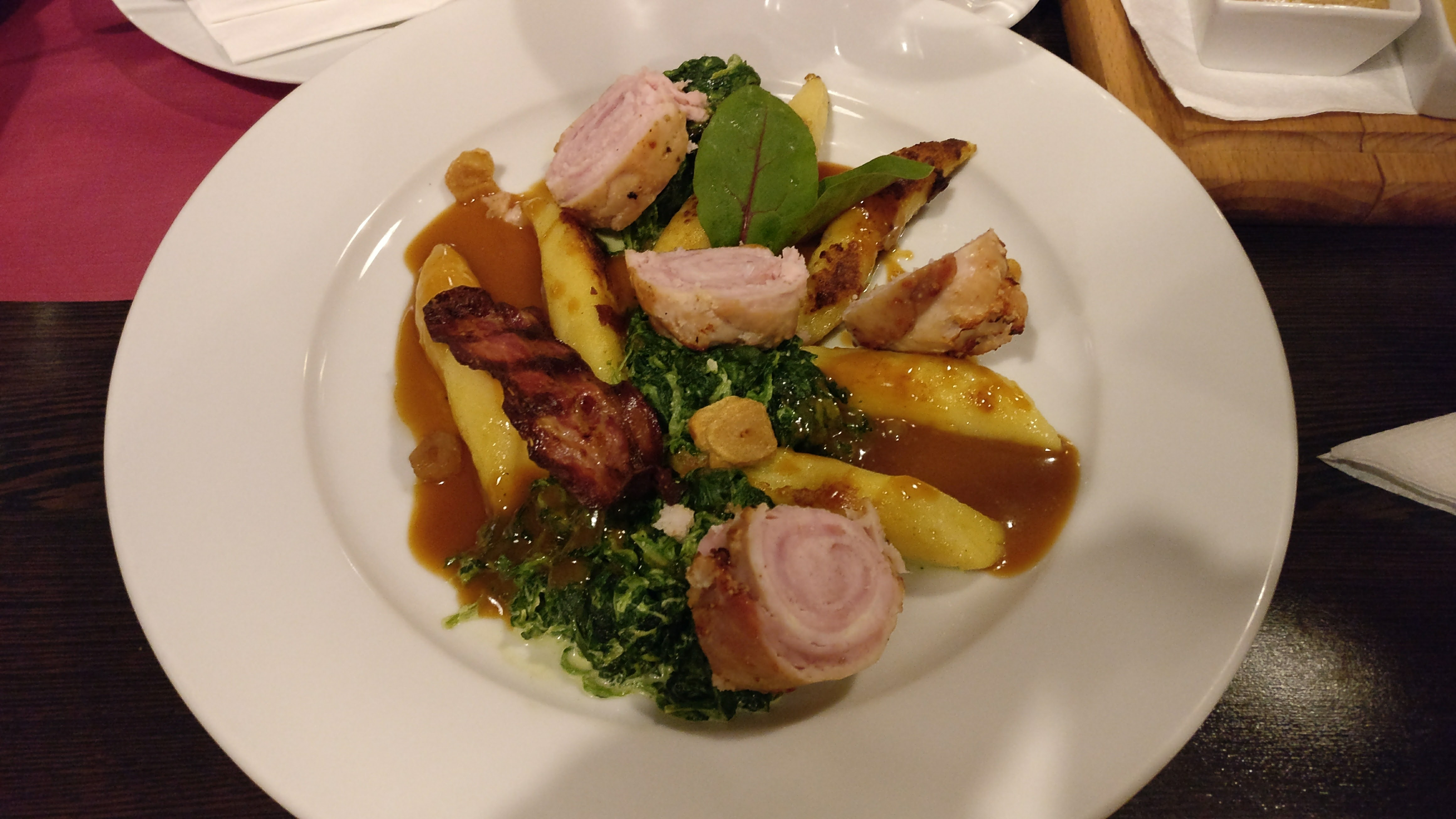 A Dish Made Of Rabbit Meat And Gnocchi  Food