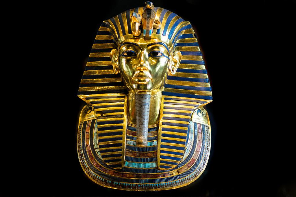 Tutankhamun mask, Egypt