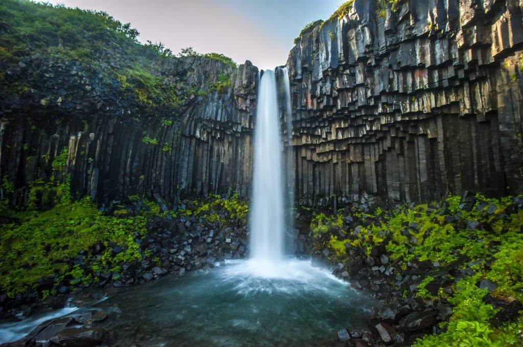 Svartifoss, Black Waterfall, Iceland, Music Video, Hogwarts