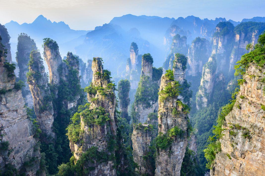Landscape of Zhangjiajie, China