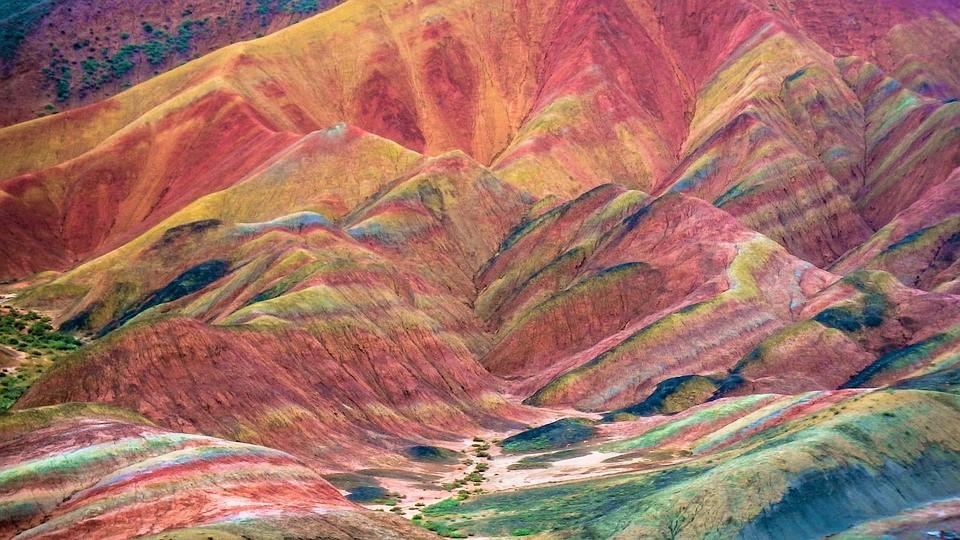 Zhangye Rainbow Hills China