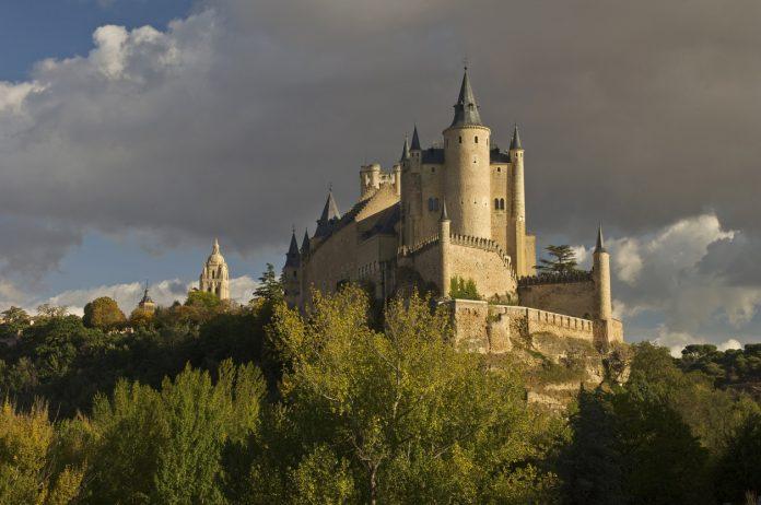 Segovia's Alcazar Castle Spain