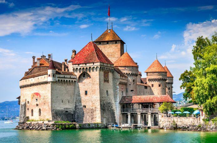 Chillon Castle - Switzerland, Lake Geneva