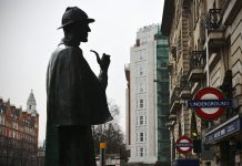 Baker Street Silhouette London