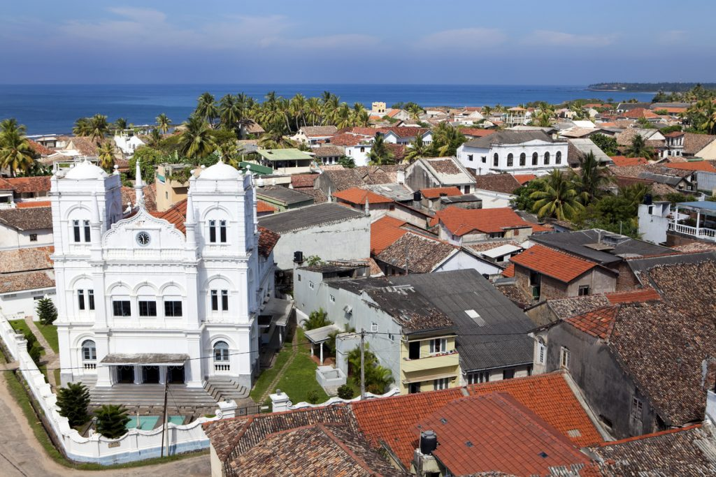 galle lighthouse view