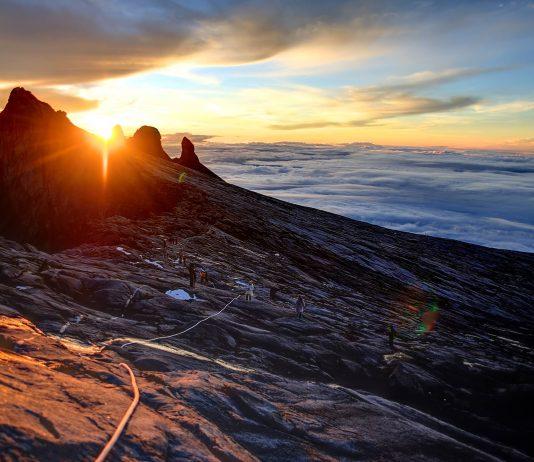Sunrise at Mount Kinabalu