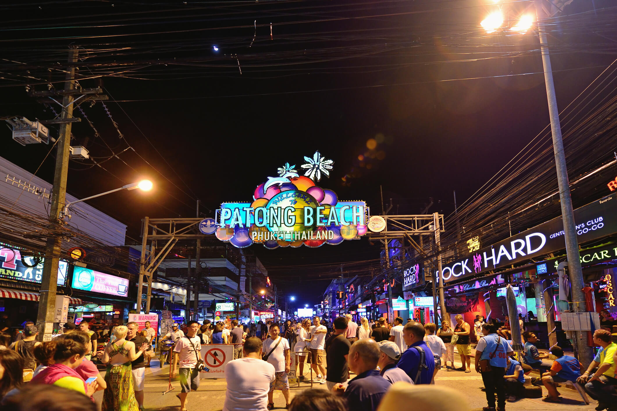 Party hard at Patong Beach - top 7 islands in Thailand