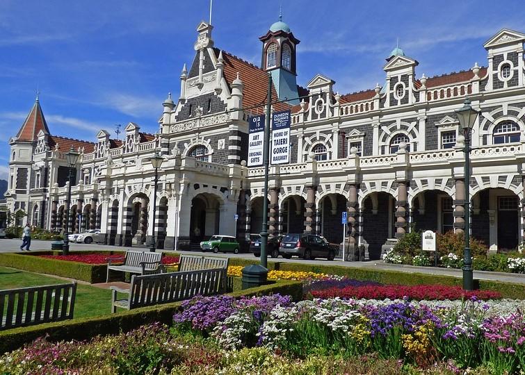 Dunedin Railway Station New Zealand
