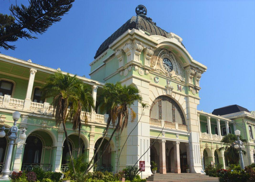 Railway Station, Maputo, Mozambique.