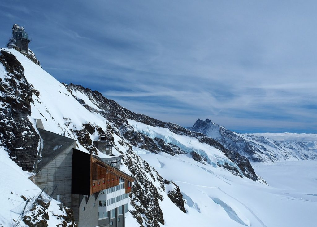 Sphinx Observatory, Jungfrau Plateau, Top of Europe, Swiss Alps, Switzerland