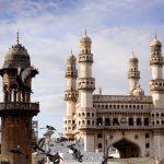 Iconic Charminar Minaret Damaged By Unseasonal Rains