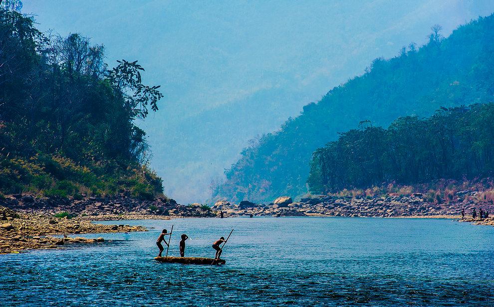 Mizoram Travel Tuipui River