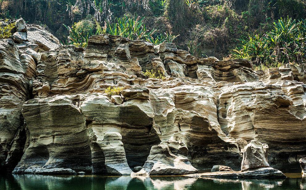 Beino Kolodyne river in Mizoram, seven sisters of India