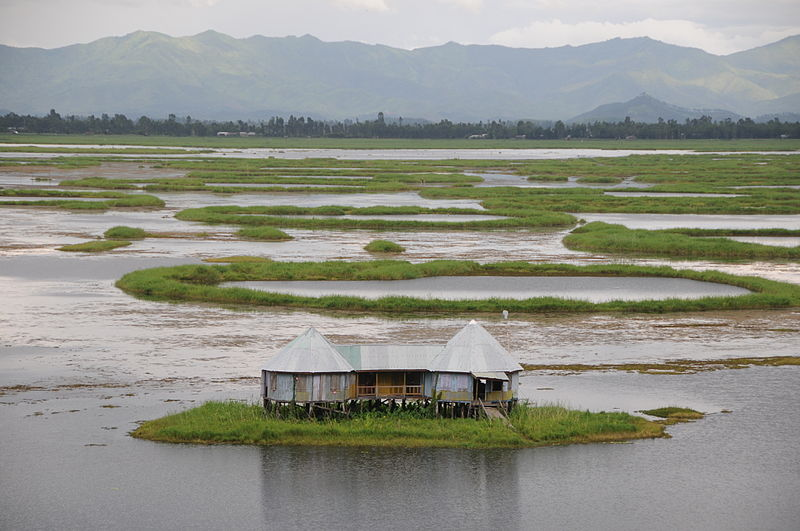 Loktak Lake Moirang Manipur, India