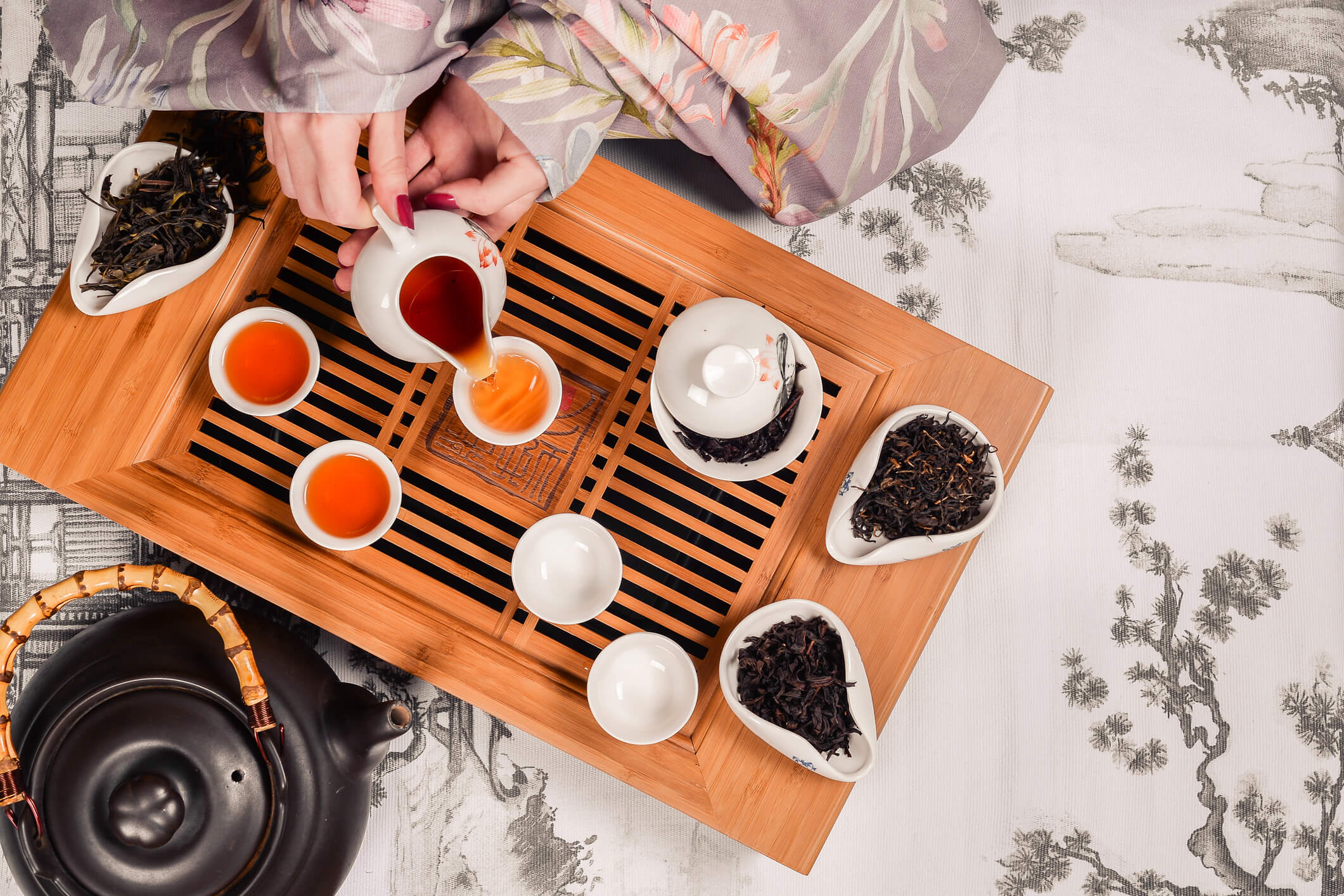 Chinese tea ceremony tray - chinese customs