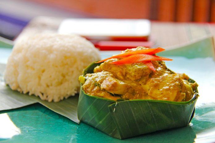 Fish Amok Cambodian Dishes Food