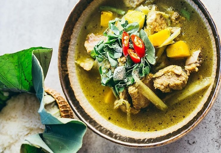 Khmer curry cambodian food