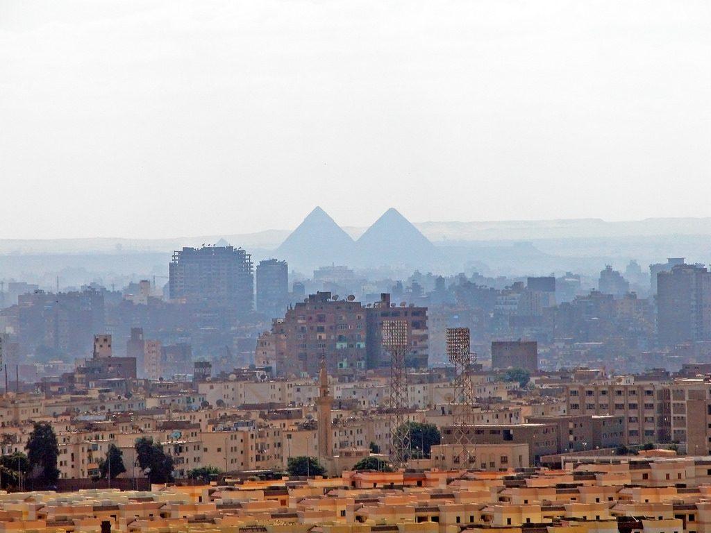 Cairo Giza Pyramids Egypt