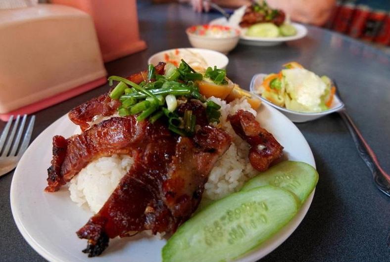 cambodia pork-and-rice