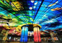 Formosa Boulevard Station in Taiwan