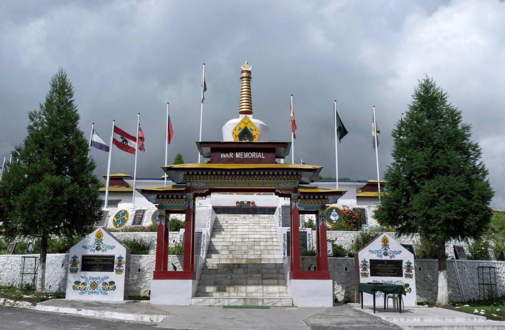 War memorial, Tawang, Arunachal Pradesh, 7 sister states