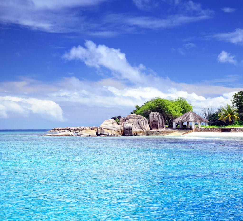 Seychelles seascape - seychelles luxury hotels