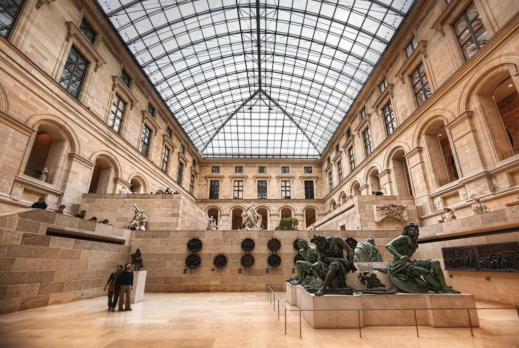Inside the Louvre Paris