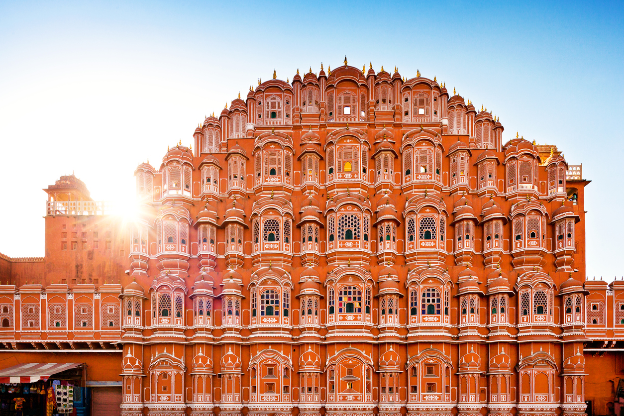 Hawa Mahal (Palace of the Winds) Jaipur, India, rajasthan
