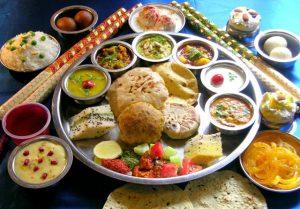 gujarati thali food