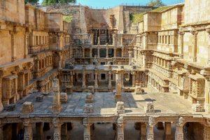 The famous Rani ki Vav stepwell in Patan, Gujarat