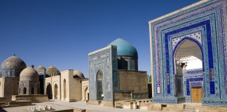 Samarkand, The avenue of tombs-Shahr-I-Zindah, visit Uzbekistan