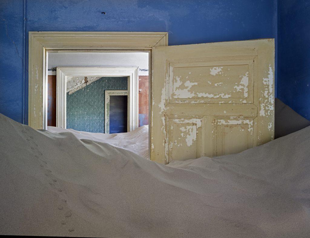 Kolmanskop abandoned mining town, Luderitz, Namibia