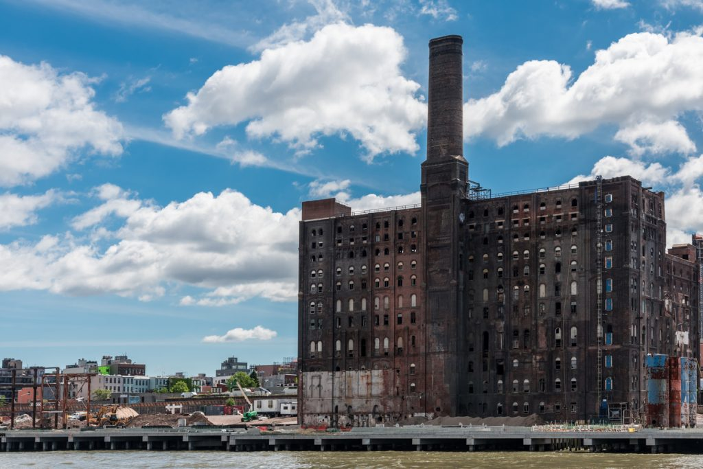 Abandoned places, The abandoned Domino Sugar Refinery in Williansburg, Brooklyn.