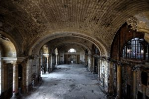 Michigan Central Train Station Detroit abandoned places