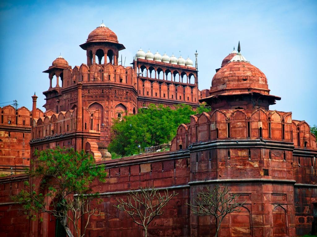 Red Fort Delhi Mughal Buildings