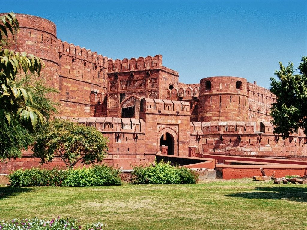 Agra Fort, places to visit in Agra