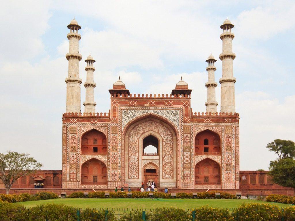 Akbar's Tomb Sikandra Agra