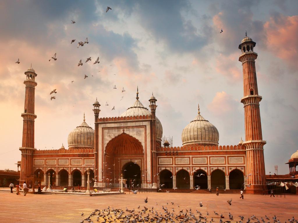 Beautiful Mosques, Jama Masjid Delhi Sightseeing