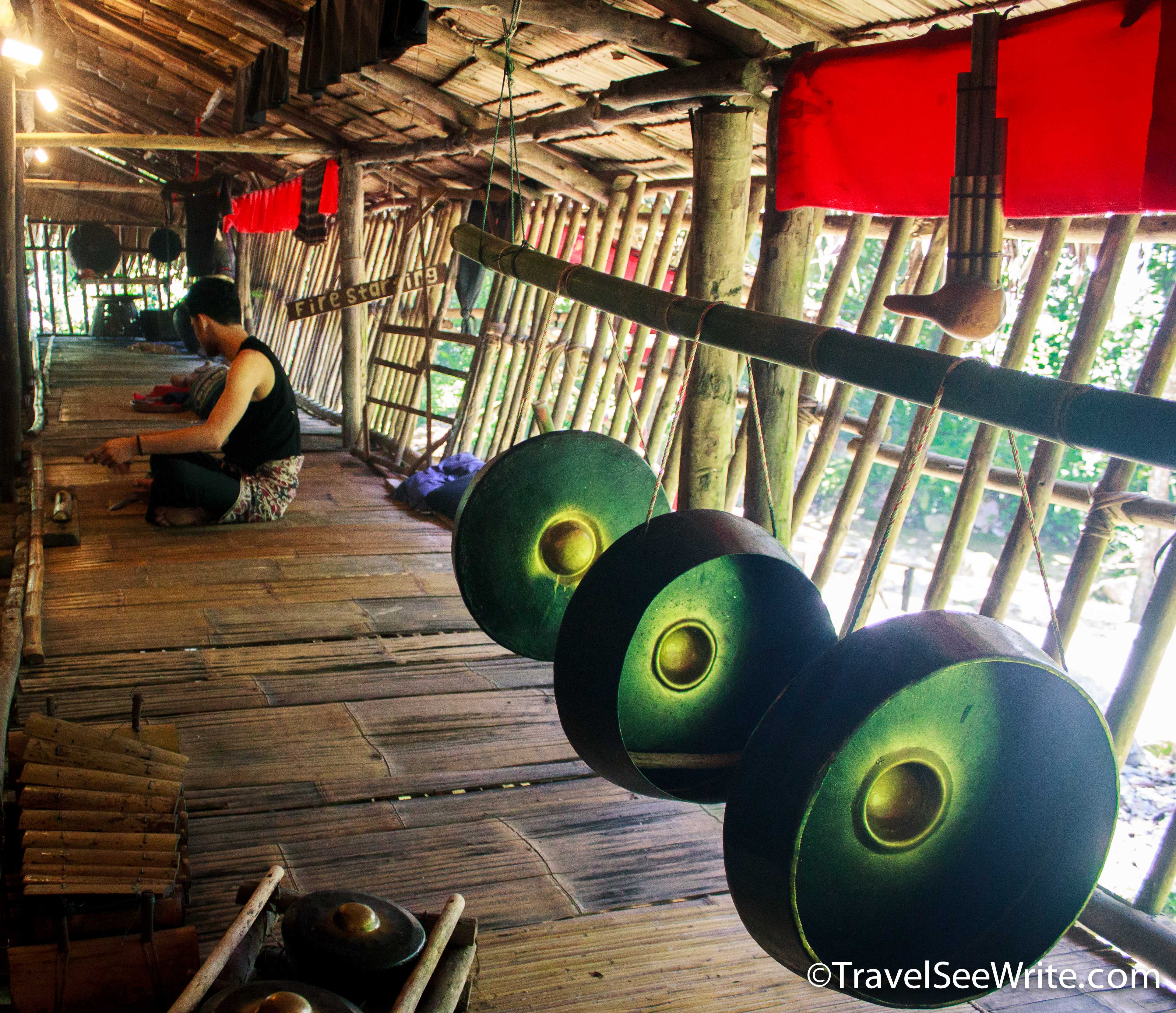 Mari Mari village tribe hut Sabah, Malaysia - southeast asia travel