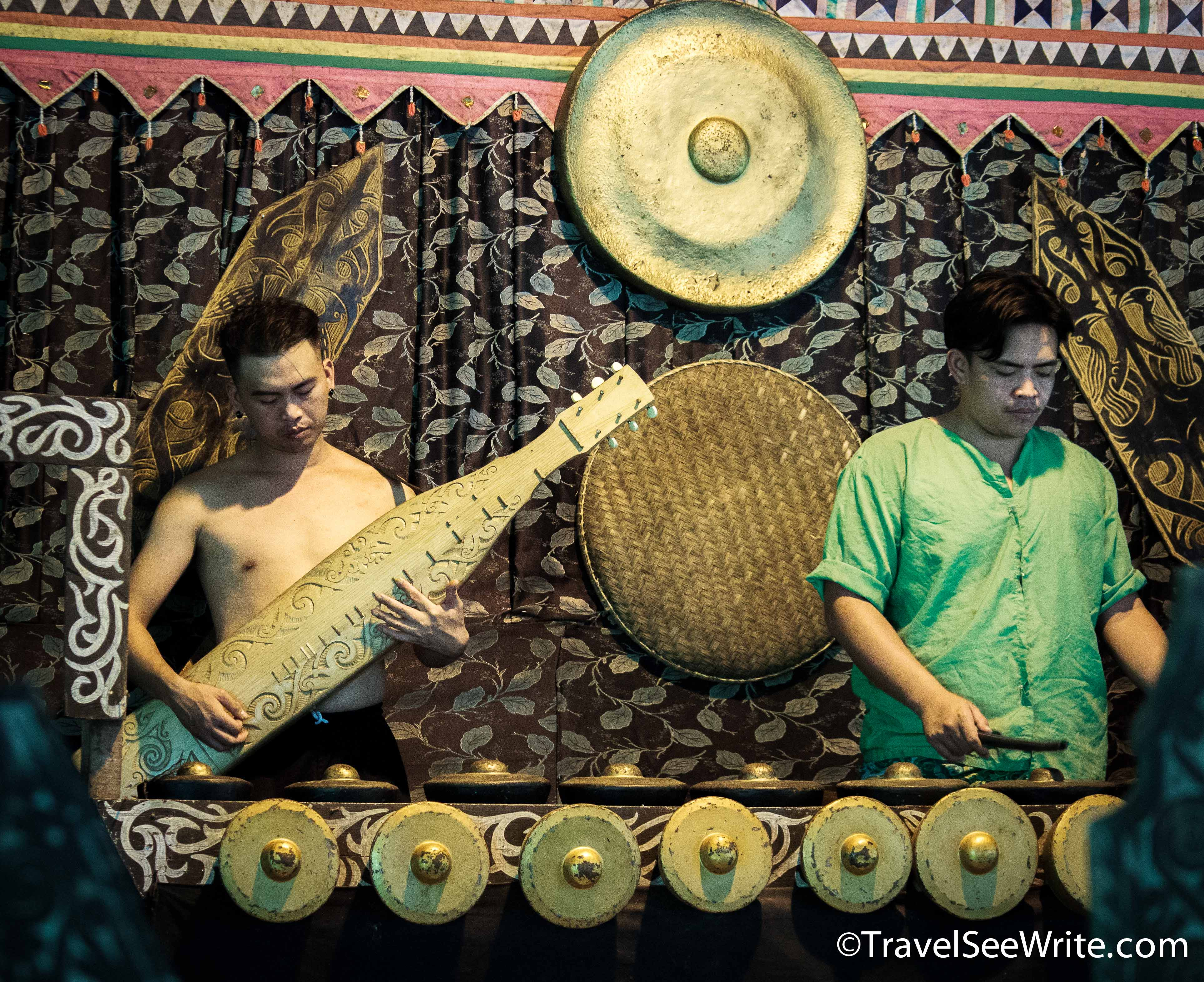 Musical instruments used by Sabah tribes, Malaysia - southeast asia travel