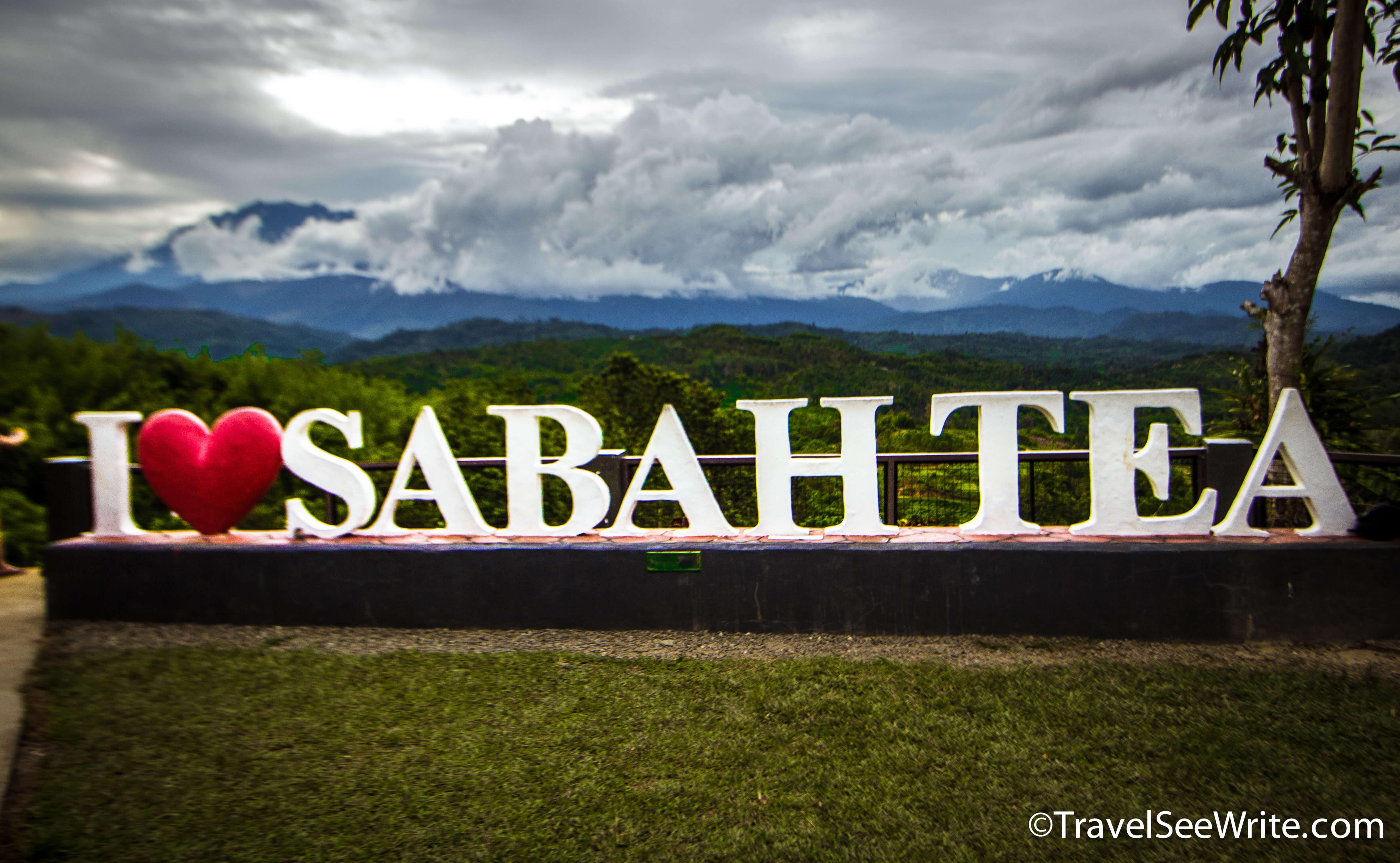 A signage at Sabah Tea Garden - southeast asia travel