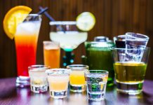 Set of various Tequila Cocktails, easy cocktail recipes