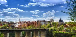 Famous Place, Summer, Kamianets-Podilskyi, Ukraine, Bridge