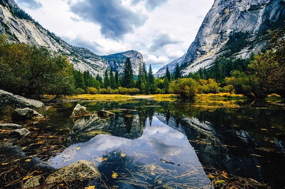 Mirror Lake Yosemite National Park California