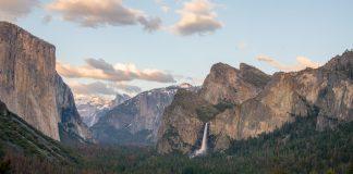 El Capitan, Half Dome, and Bridalveil Fall - Yosemite National Park