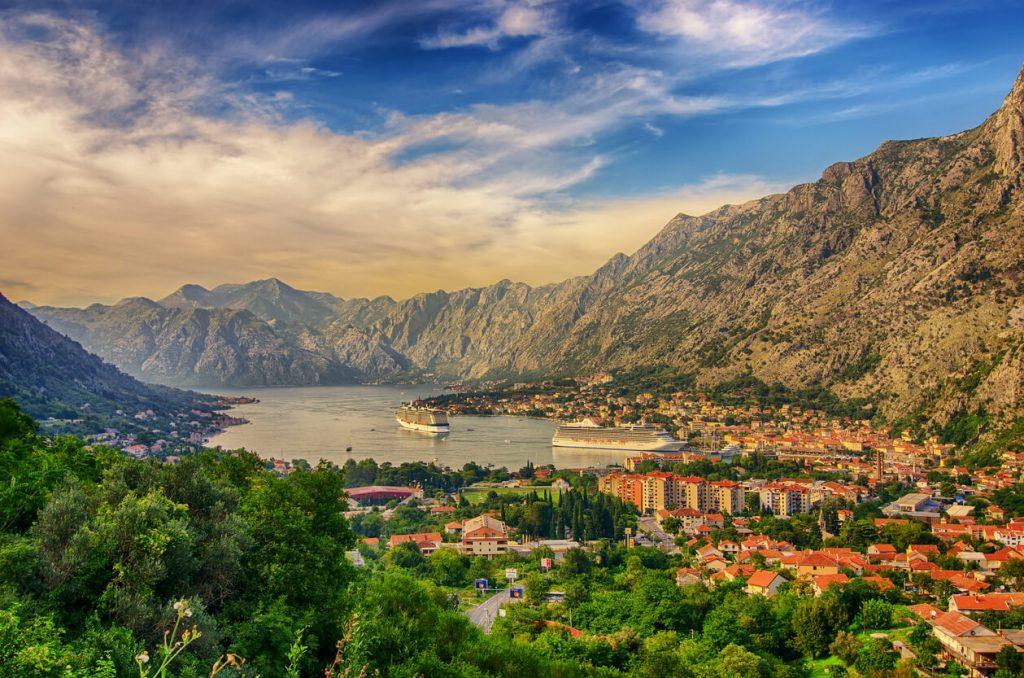Bay of Kotor, Montenegro, Yugoslavia