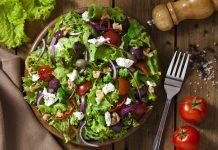 Colorful vegan salad, popular Indian dishes turned vegan